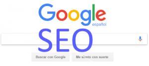 Una imagen que combina SEO y Google