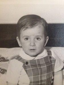 Fotografía de niño de Julián Vida Barea
